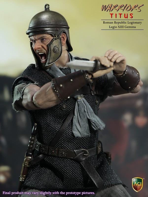 [ACI Toys - 1/6 Roman Republic Legionary: Titus Legio XIII